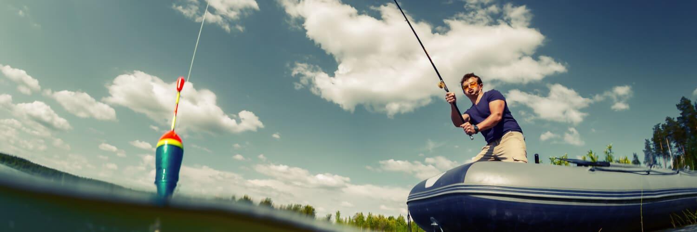 Принадлежности рыболовные