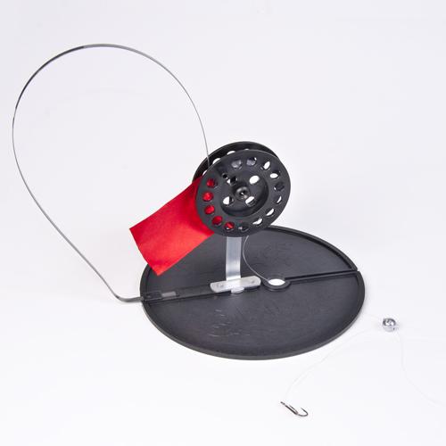 Жерлица оснащ. СУДАК на кругу 180мм. d кат. 75мм крюч. двойник №6