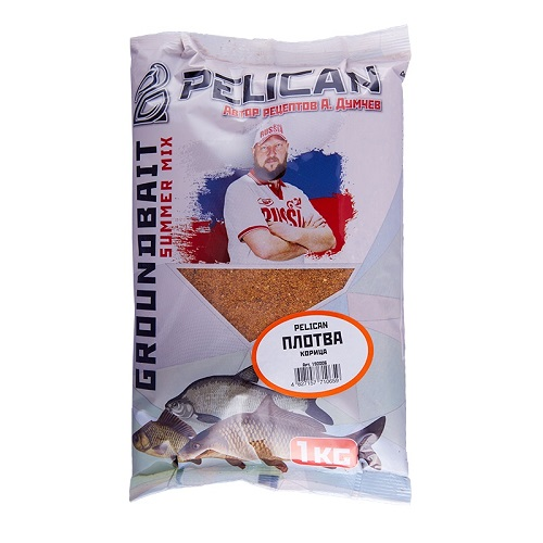 Прикормка Pelican ПЛОТВА Корица 1кг