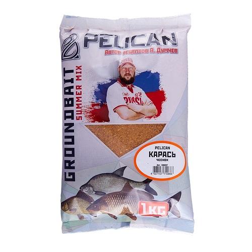 Прикормка Pelican КАРАСЬ Чеснок 1кг