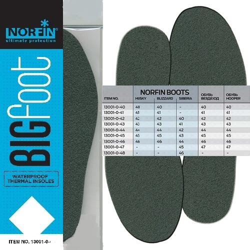 Стельки бахил термо Norfin BIGFOOT непромокаемые р.41