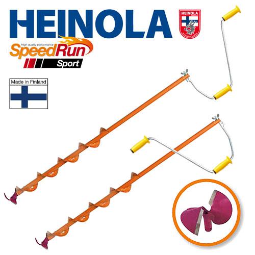 Ледобур Heinola SpeedRun SPORT 115мм/0.8м