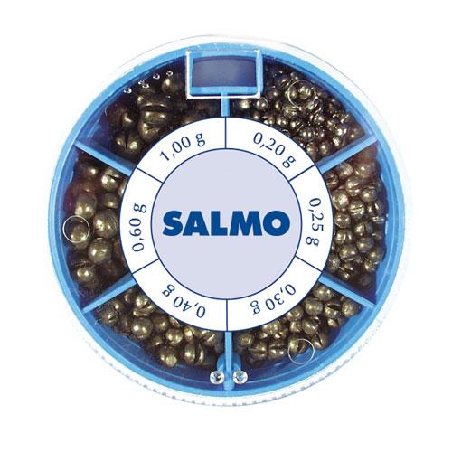Грузила Salmo ДРОБИНКА PL 6 секций стандартные 120г набор