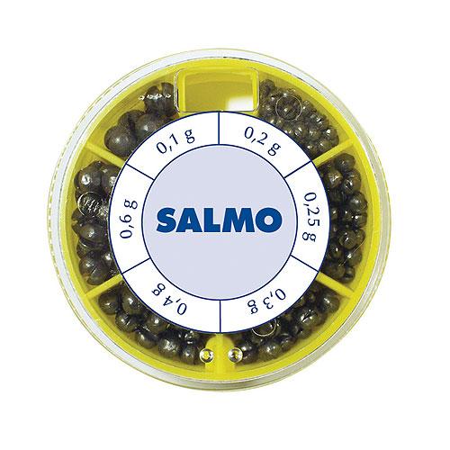 Грузила Salmo ДРОБИНКА PL 6 секций стандартные 050г набор