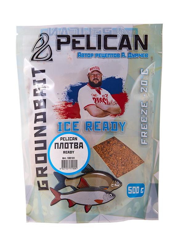 Прикормка зим. готовая Pelican ПЛОТВА 0,5кг