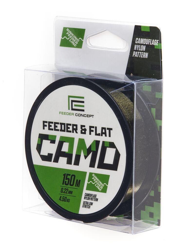 Леска монофильная Feeder Concept FEEDER&FLAT Camo 150/022