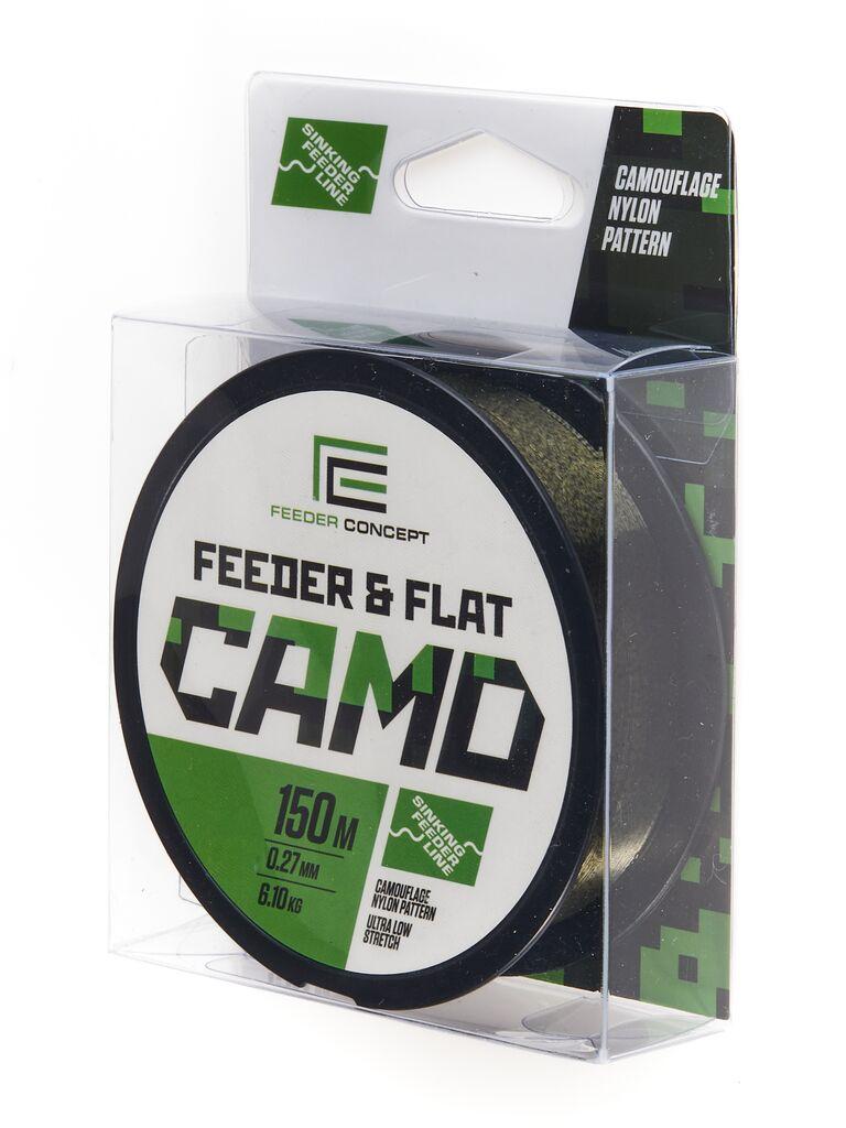 Леска монофильная Feeder Concept FEEDER&FLAT Camo 150/027