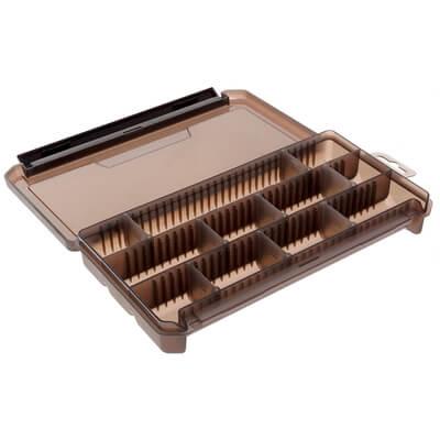 Коробка для приманок КДП-2 ТРИ КИТА прозрачная