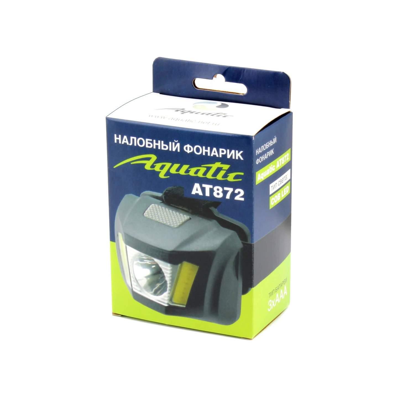 Фонарь Aquatic AT872 тип света: COB LED налобный