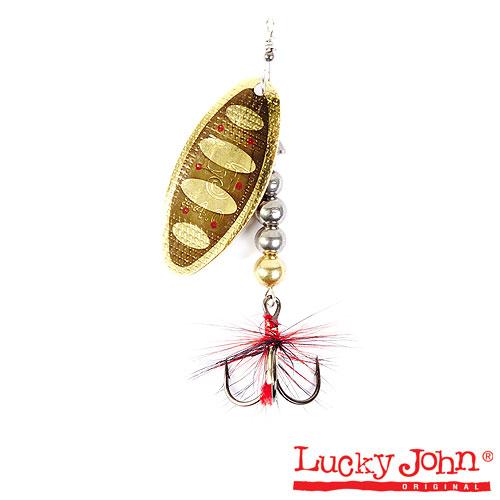 Блесна вращающаяся Lucky John SHELT BLADE Tungsten Body 03 15.0г 001