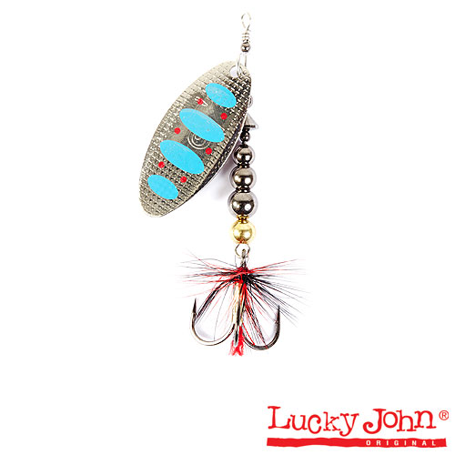 Блесна вращающаяся Lucky John SHELT BLADE Tungsten Body 03 15.0г 003