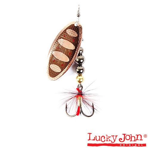 Блесна вращающаяся Lucky John SHELT BLADE Tungsten Body 03 15.0г 006