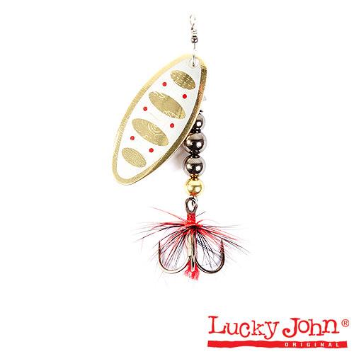 Блесна вращающаяся Lucky John SHELT BLADE Tungsten Body 03 15.0г 002