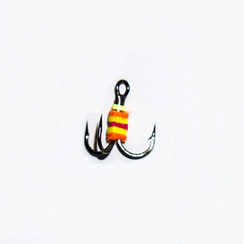 Крючок-тройник для приманок с аккум. запаха разм.012