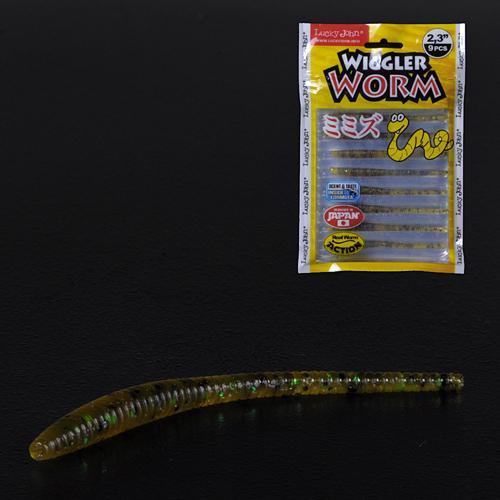 Слаги съедобные искусственные LJ Pro Series WIGGLER WORM 05.84/PA19 9шт.