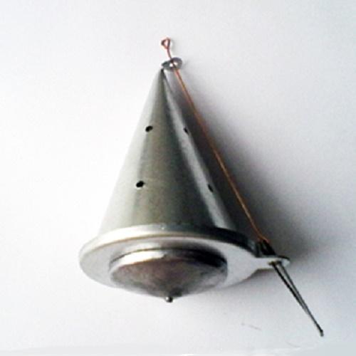 Кормушка зимняя огруженная КОНУС малая метал. 185г