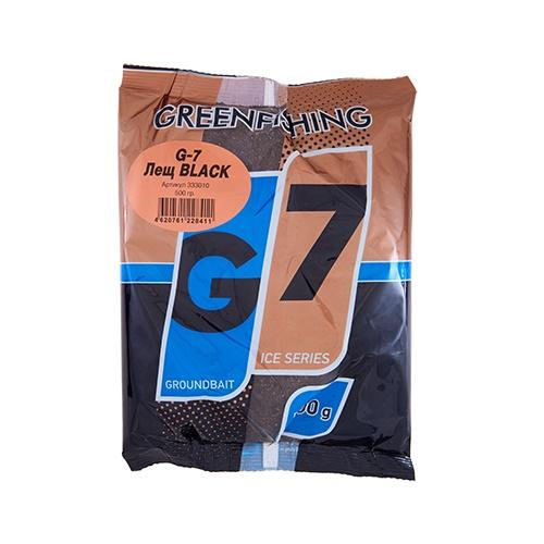 Прикормка зим. G-7 Лещ BLACK 0.5кг
