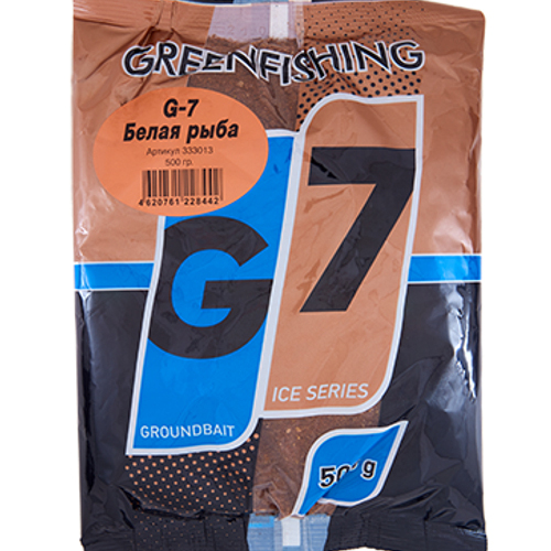 Прикормка зим. G-7 Белая рыба 0.5кг