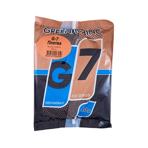 Прикормка зим. G-7 Плотва 0.5кг