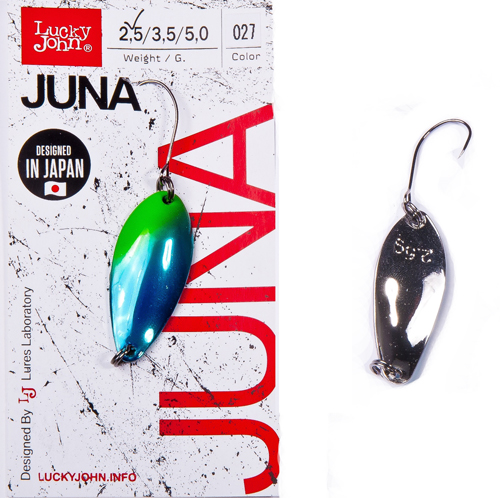 Блесна колеб. Lucky John JUNA длин.30мм/02,5г 027