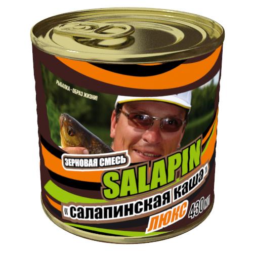 Добавка Зерновой микс Салапинская каша Люкс 0.43л