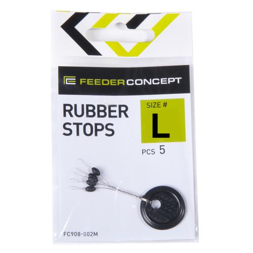 Стопоры резиновые Feeder Concept RUBBER STOPS р.003L 5шт.