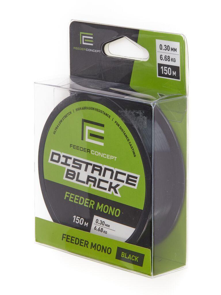 Леска монофильная Feeder Concept Distance Black 150/030