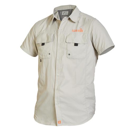 Рубашка Norfin FOCUS SHORT SLEEVES GRAY 01 р.S